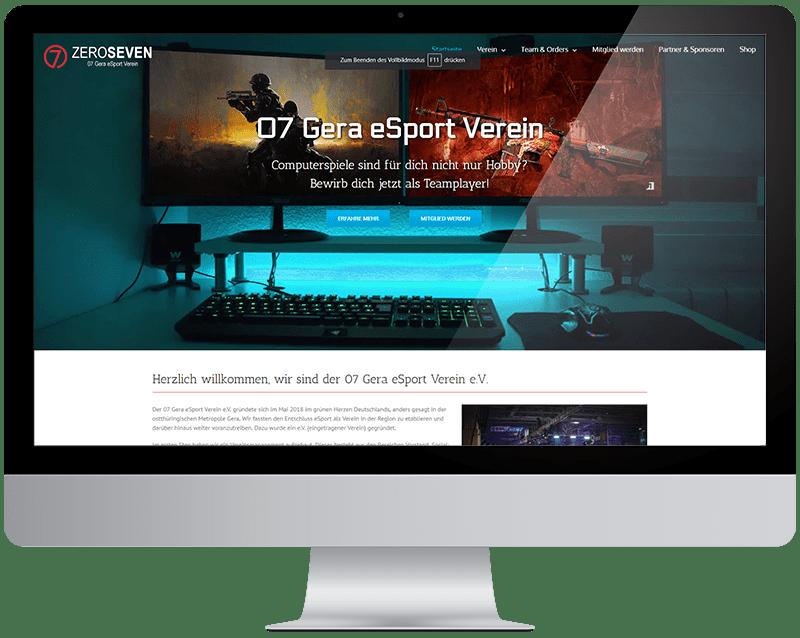 07 Gera eSport Verein ZeroSeven