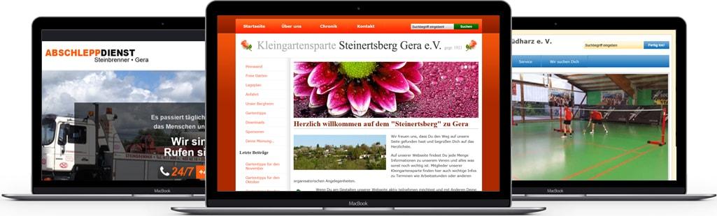 Leistungen professionelles Webdesign