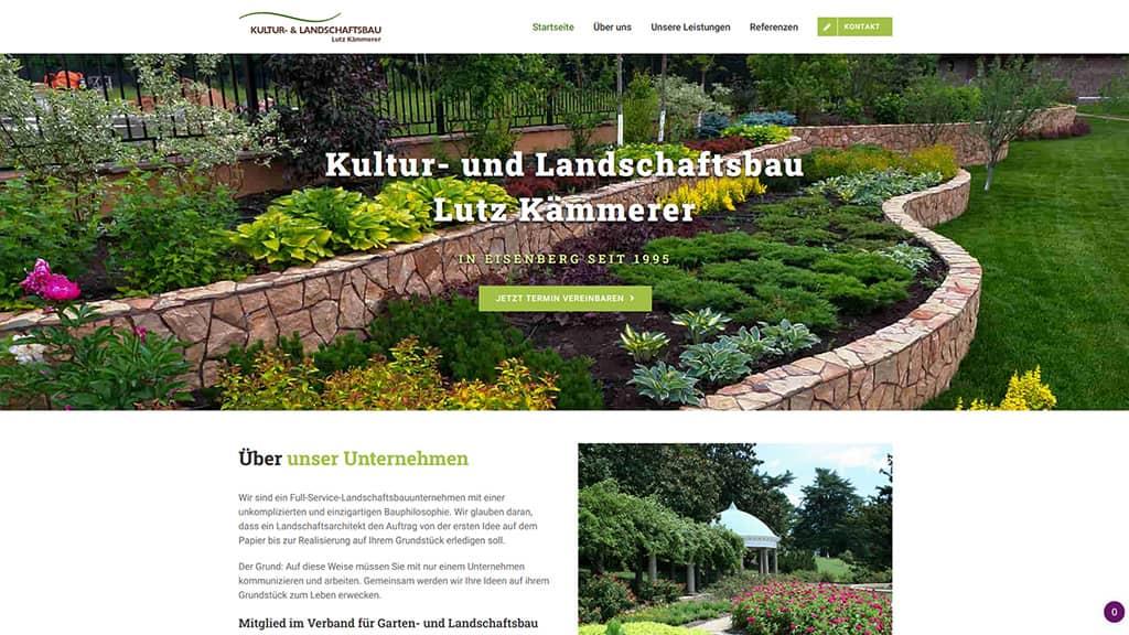 Referenz Landschaftsbau Kämmerer