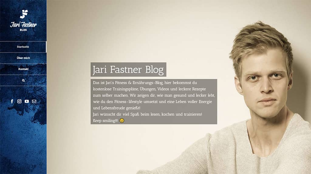 Referenz Webdesign Jari Fastner Hamburg