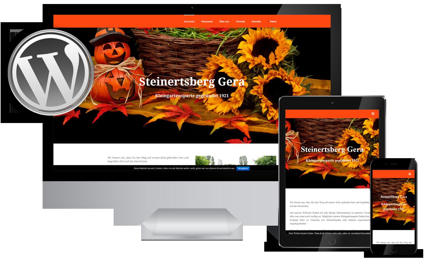 Referenzen Webdesign Steinertsberg Gera