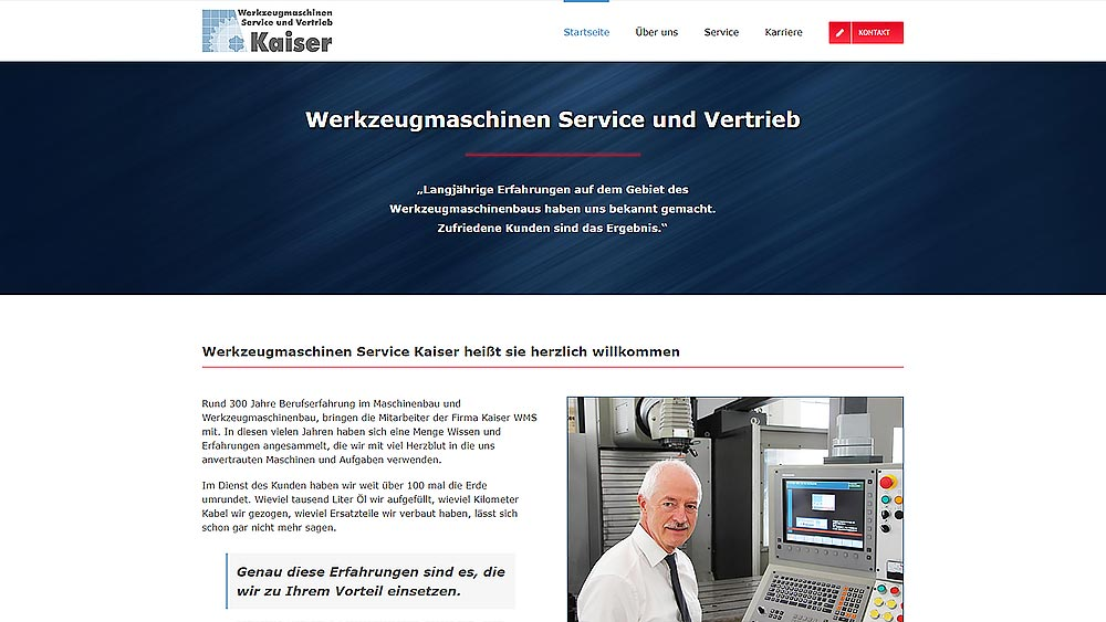 Relaunsch Kaiser WMS after