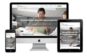 Webseiten Ansicht silke-model.de