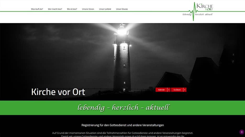 Webdesign Referenz Kirchgemeinde Pölzig