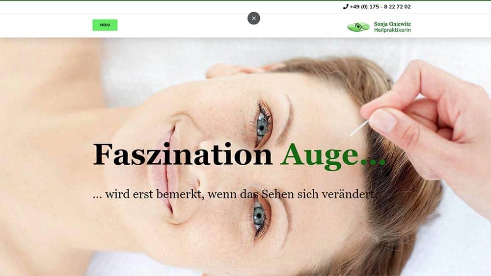 Webseite Augenakupunktur Gera